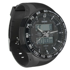 SKMEI New Waterproof Men's Analog Digital LED Rubber Military Wrist Sports Watch