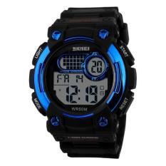 SKMEI S-Shock Militer Sport Watch Water Resistant 50m - DG1054 (Blue)