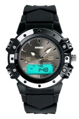 SKMEI S-Shock Sport Watch Water Resistant 50 M - AD0821 - Hitam