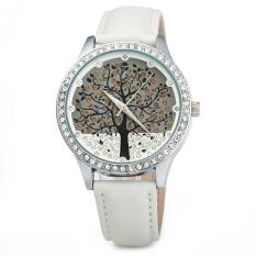SKONE 5082 Women Quartz Imitation Diamond Wrist Watch White (Intl)