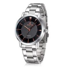 SKONE Brand Sports Watches Men Luxury Fashion Business Watch Hardlex Quartz Wristwatches Black (Intl)
