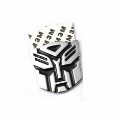 Sohoku Emblem Stiker 3D Transformer Autobot (Silver)