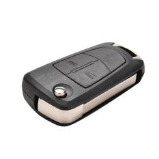 Sporter 2 Button Remote Flip Key Case Shell For Vauxhall Opel Corsa Astra Vectra Zafira