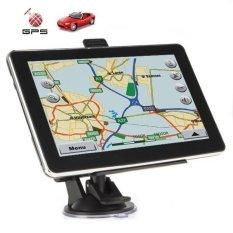 Sqamin 7 Inch GPS Unit For Auto Car Truck Van (Black, America Maps)