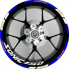 Sticker Stiker Velg Motor List Velg Whell Striping Model Honda Sonic 150 Repsol Uk Velg 17 Inch