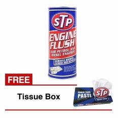 STP - Engine Flush - FREE Tissue Box