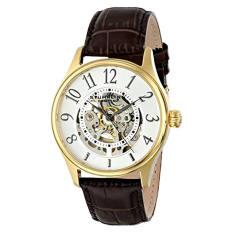 Stuhrling Original Men's 746L.03 Classic Solaris Analog Display Automatic Self Wind Brown Watch (Intl)
