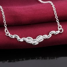 Stylish Silver Diamond Pendant Necklace Neck Decor Jewelry Wholesale (Intl)