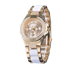 SuperCart Women Casual Alloy Quartz Watch (Intl)