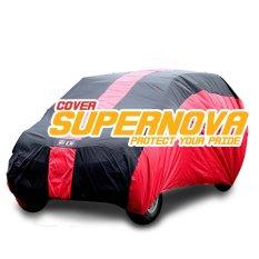 Supernova Body Cover Mobil Avanza - Merah-Hitam