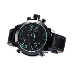 Svoovs Genuine Fashion Men's Quartz Watch Three Movement Boys Retro Classic Tide Men's Leather