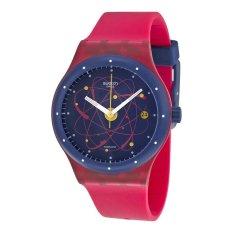 Swatch Jam Tangan Wanita-Sutr401 Sistem Pink-Pink