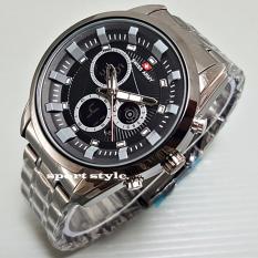 Swiss Army Crono Time - Jam Tangan Pria - Stainless Steel - SA7269