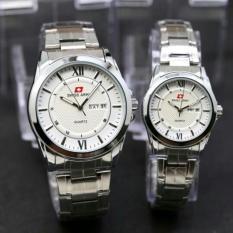 Swiss Army Jam Tangan Couple SA 556