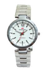 Swiss Army Jam Tangan Wanita - Body Silver - Silver - Stainless Steel Back - HC 2198 L