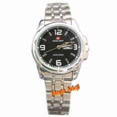 Swiss Army - SA0079L - Jam Tangan Wanita - Stainless - ( Silver Hitam )