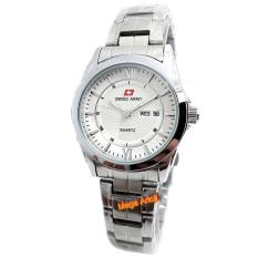 Swiss Army - SA0109L - Jam Tangan Wanita - Stainless Steel - Silver