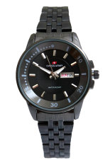 Swiss Army Women's Jam Tangan Wanita - Body + Bezel Hitam - Stainless Steel Back - TW 0967 LB