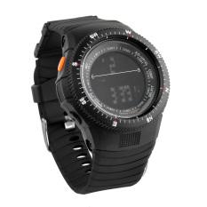 SYNOKE 67836 Unisex Fashion Multifunction Waterproof Sports LED Digital Watch W / Alarm Chronograph Calendar Noctilucent Black + Army Green