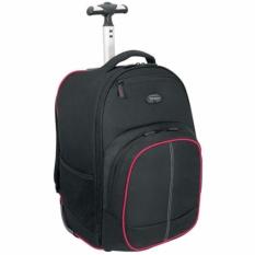 [ TARGUS ] Compact Rolling Laptop Backpack Black Business Bag 16