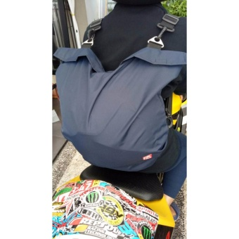 ... Wanita Lestari Fashion . Source · Tas helm anti air model ransel NAVY BLUE .