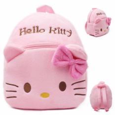 Tas Sekolah Anak Karakter Kartun Hello Kitty Ransel - Pink