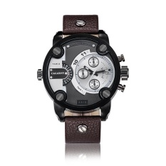 Telimei CAGARNY DZ Style Leisure Sports Brand Quartz Skin Mens Watch Large Dial Mens Watch Wholesale