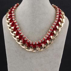 Tiaria Tiaria N056-F Jewelry Fashion Necklaces For Women Fashion Big Star Metal Necklaces Aksesoris Kalung Lapis Emas 18K - Silver (Silver)