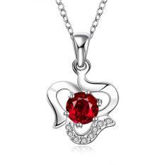 Tiaria Tiaria N518 Fashion Popular Chain Necklace Jewelry Aksesoris Kalung Lapis Emas 18K - Silver (Silver) (Silver)