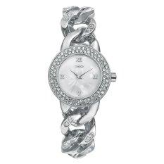 Time100 Fashion Skeleton Diamonds Jewelry Bracelet Ladies Quartz Watch W50325L.02A (Intl)