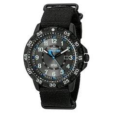 Timex Men's 'Expedition Gallatin' Quartz Resin And Nylon Camping Watch, Color:Black (Model: TW4B035009J) - Intl