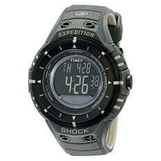 """Timex Men's T49612 """"Expedition Trail Series"""" Black And Green Watch - Intl"""