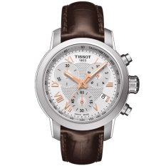 Tissot Original PRC 200 Quartz Chronograph T055.217.16.033.02 Women's Watch - Brown
