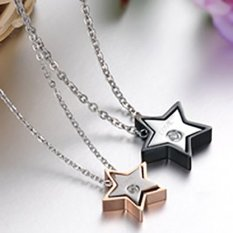 Titanium - Kalung Couple High Quality Kode KC002