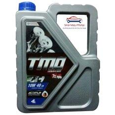 Toyota Motor Oil Synthetic TMO 10W-40 API SN - Oli Mobil Mesin Bensin 4 Liter