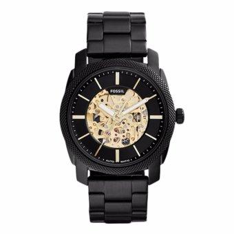 Triple 8 Collection - Fossil Machine Automatic ME3097 Black - Jam tangan Pria