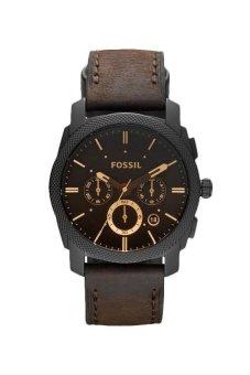 Triple 8 Collection - Fossil Machine MidSize FS4656 - Jam tangan Pria