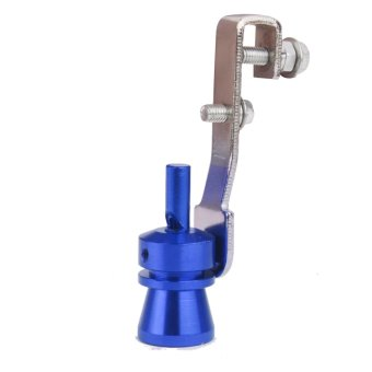 Turbo Sound Whistle Exhaust Pipe Blowoff Valve Simulator Size M -Blue