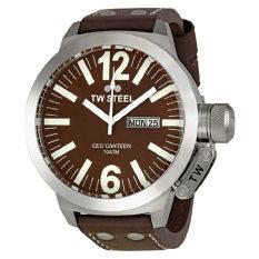 TW Steel Men's CE1010 CEO Brown Dial Watch - Intl