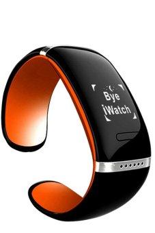 Twinklenorth L12S-OG Orange Bluetooth Wrist Bracelet Smart Watches