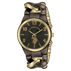 U.S. Polo Assn. Women's USC40177 Analog Display Analog Quartz Two Tone Watch - Intl
