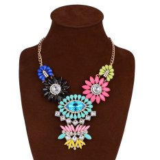 UJS New Fashion Jewelry Color Fashion Pendant Necklace Ms. Clavicle Chain