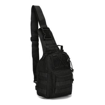 Unique Tas Bahu dan Pinggang Selempang Army - Army Sling Bag - Black