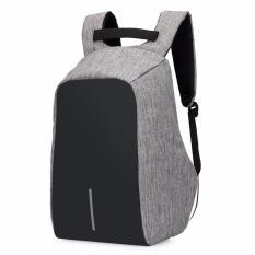 Unique Tas Ransel Laptop Bobby Backpack USB Power bank Support Anti-Theft Model XD Palo Alto Design - Hitam