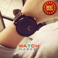 Unisex Men Men Quartz Analog Wrist Watch Watches Black