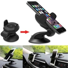 Universal 360°Rotating Car Windshield Mount Holder Stand For Cell Phone /GPS - intl