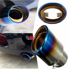 Universal Car Auto Stainless Steel Exhaust Muffler Tail Pipe Modification 140mm - Intl