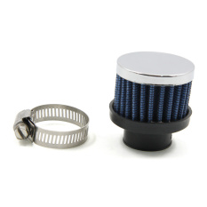 Universal Car Mini Air Filter 25MM Diameter Clamp-On Auto Intake Cold Air Filters