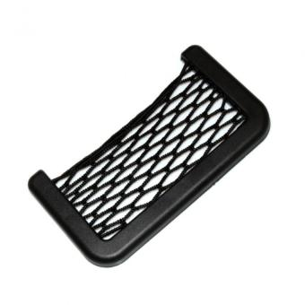 Universal Car Organizer Storage Net Bag Phone Holder Pocket For Chevrolet Cruze Aveo Captiva Spark Epica Sonic Malibu Captiva Sport Zafira Trax Any Car
