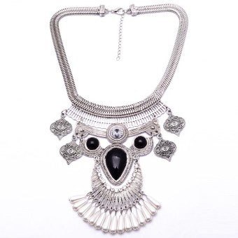 Universal - Kalung Korea - Raisa Necklace - Silver